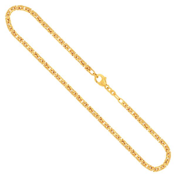 Königskette Gelbgold