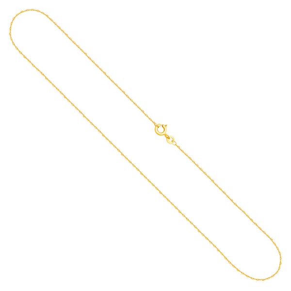 Haferkornkette Gelbgold