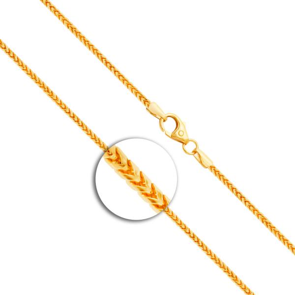 Armband Bingokette Gelbgold