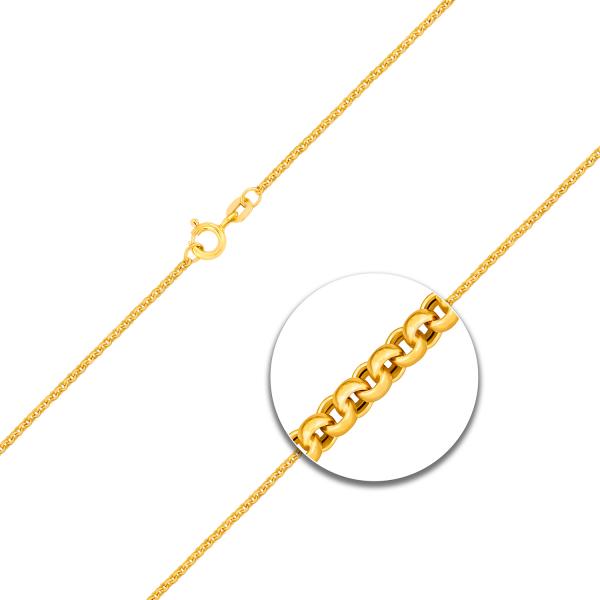 Erbskette Gelbgold