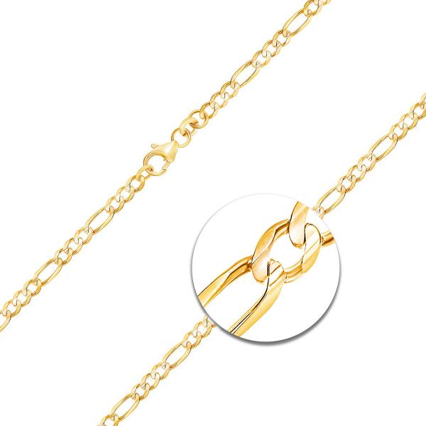 Figarokette Gelbgold