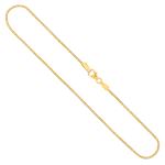 Tondakette diamantiert Gelbgold