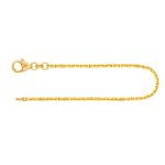Armband Ankerkette diamantiert Gelbgold