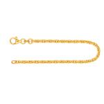 Armband Ankerkette hohl Gelbgold