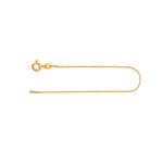 Armband Venezianerkette Gelbgold