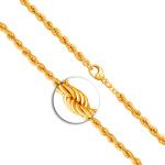 Armband Herringbone Kette Gelbgold