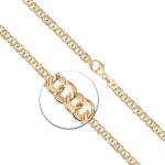 Armband Garibaldikette Gelbgold