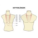 Herringbone Kette Gelbgold