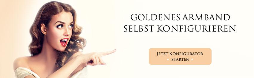 Goldene Armreifen